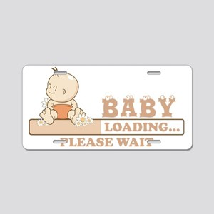 Baby Loading Aluminum License Plate